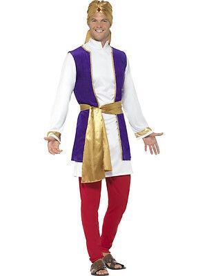Smiffy's Arabian Prince Aladdin Bollywood Adult Men's Costume Size Medium - Aladdin Costumes Adults