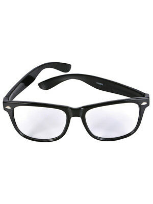 Nerd Geek 50s Buddy Clear Lens Clark Kent Librarian Costume Glasses](Librarian Costume)