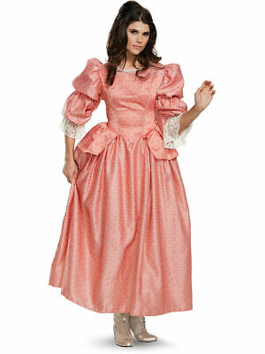 Adult's Womens Deluxe Pirates Of The Caribbean 5 Carina Dress Costume XL (18-20)](Juniors Plus Halloween Costumes)