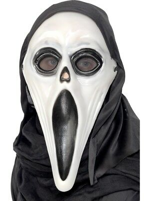 The Dark Adults Halloween Screamer Accessory (Glow In The Dark Scream Maske)
