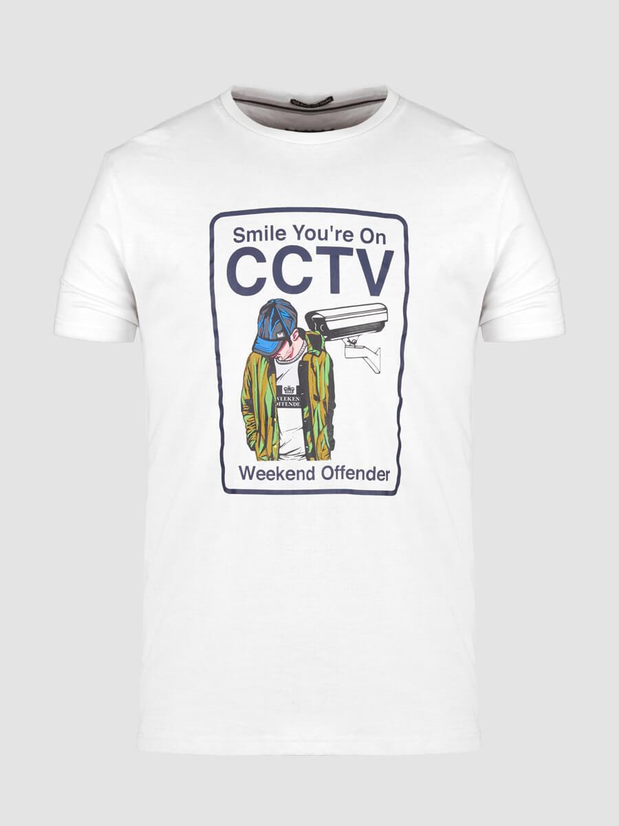 € 34,90 -10% WEEKEND OFFENDER T SHIRT CCTV XS S M L XL XXL CASUAL MODS ULTRAS