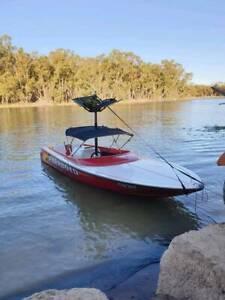 Stevenson speedboat