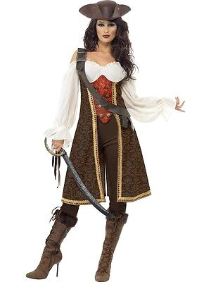 High Seas Pirate Wench Buccaneer Swashbuckler Adult Costume