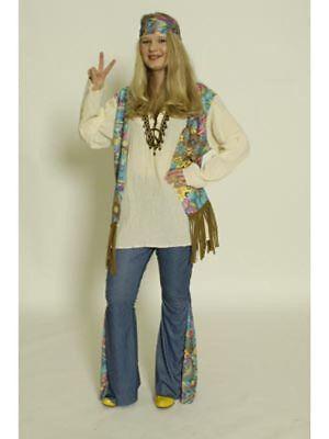 Kostüm Hippiefrau de Luxe, (Kostüme De Lux)