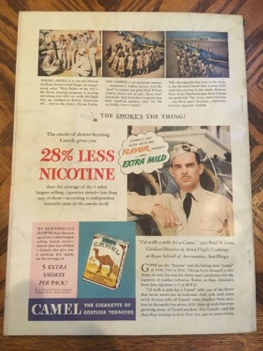 Vintage Outdoor Life Magazine Sept 41 Mint Condition Jack O Connor Article  - $24.99