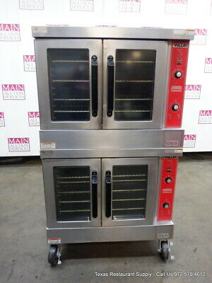 Vulcan Vc4gd-10 Gas Double Deck Full Size Convection Ovens