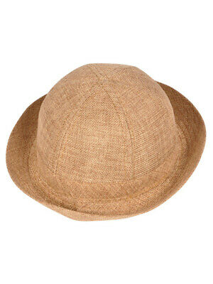 Kids Child Cloth Light Brown Safari Explorer Costume Accessory Pith Helmet Hat - Kids Safari Costumes