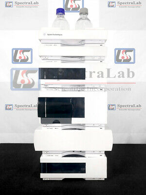 Agilent 1200 Hplc System With G1311a Quat Pump G1315b Dad 1 Year Warranty