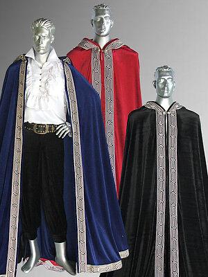 Medieval Renaissance Royal Style Cape Cloak for King or Knight - Royal Renaissance Kostüm