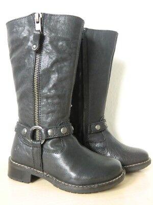 Geox Herbststiefel - J Flake M - J13C4M Kinderstiefel / Stiefel Größe 26 Schwarz