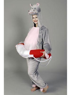 Kostüm für Erwachsene Overall Hippo Karneval (Hippo Kostüm)