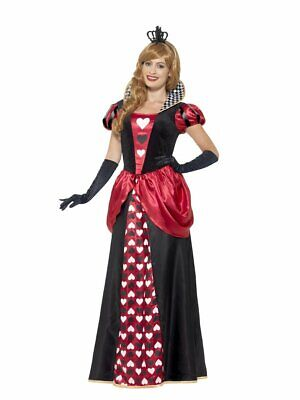 BNWT ROYAL RED QUEEN LADIES DRESS UP FANCY ADULT COSTUME SIZE EXTRA LARGE RRP£60 (60 Dress Up)