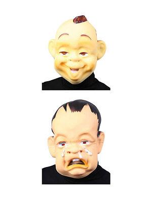 Gesichtsmaske Baby Hautfarben Karneval Fasching Kostüm - Baby Gesicht Maske Kostüm