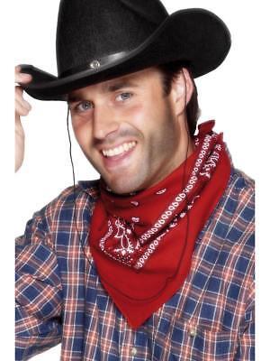 Cowboy & Indian West Rot Bandana Schal Kostüm Packungen mit 12