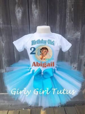 Baby Moana Personalized Custom Birthay Tutu Outfit Party Dress Set - Personalized Infant Dresses