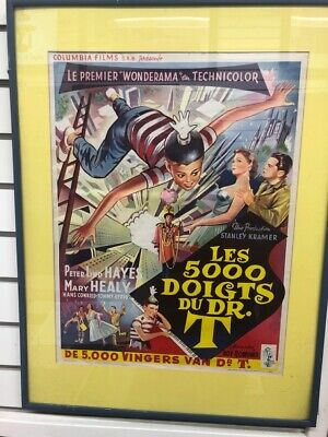 THE 5000 FINGERS OF DR T / BELGIUM MOVIE POSTER (CJL024438)