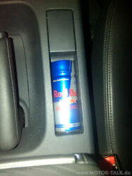 Red bull in the car