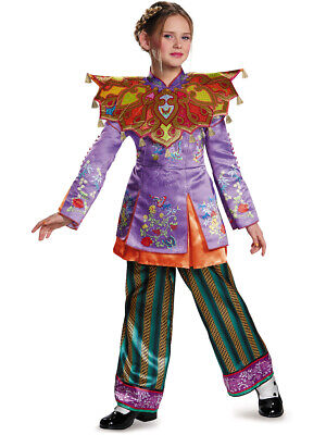 Asian Girl Costumes (Girls Prestige Alice Through The Looking Glass Asian Outfit)