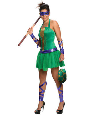 Womens Teenage Mutant Ninja Turtles Donatello Dress Costume