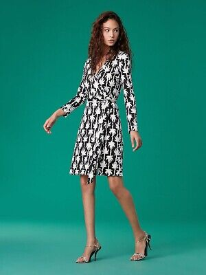 Diane Von Furstenberg New Jeanne Two Wrap Dress size