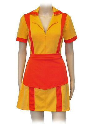 2 Broke Girls Cosplay Kostüm Dienstmädchen Diner Uniform Max Caroline - 2 Broke Girls Caroline Kostüm