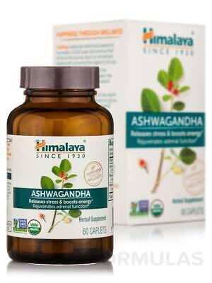 Ashwagandha - 60 Caplets by Himalaya Herbal Healthcare