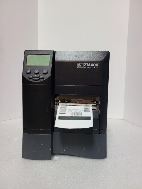 Zebra ZM400 Thermal Transfer Label Printer *