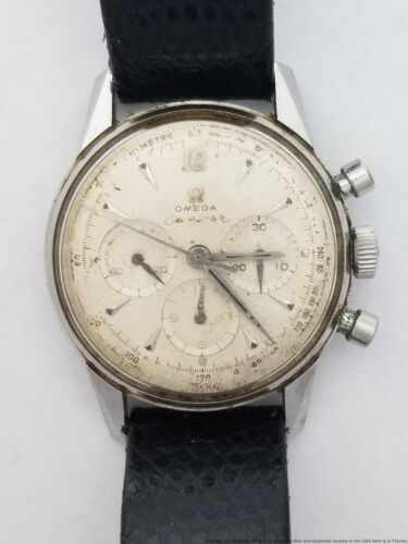 Working Omega Seamaster Chronograph 321 2947/1 315.164 Steel Vintage Watch - watch picture 1