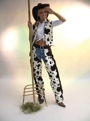 Cowboy Überhose für Herren Buffalo Kostüm Western