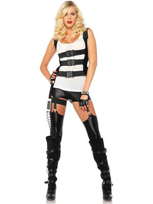 Adult's Womens SWAT Body Harness Costume - Womens Swat Costume