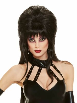 Rubies Elvira Mistress of the Dark Wig Adult Halloween Costume Accessory 51732](Elvira Mistress Dark Halloween Costumes)