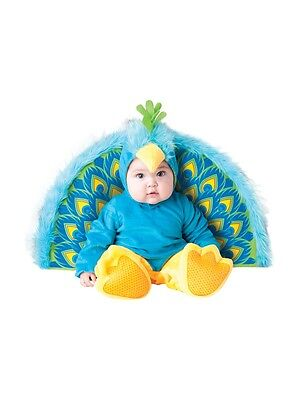 Pfau Halloween Kostüme Kinder (Incharacter Precious Pfau Vogel Kleinkinder Baby Kind Halloween Kostüm 6038)