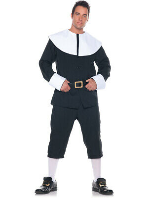 Men's English Puritan Settler Pilgrim Costume