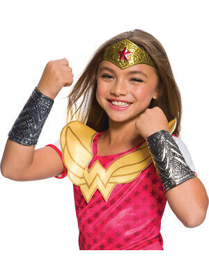 Girl's DC Super Hero Girls Wonder Woman Costume Accessory Kit](Super Girl Costume)