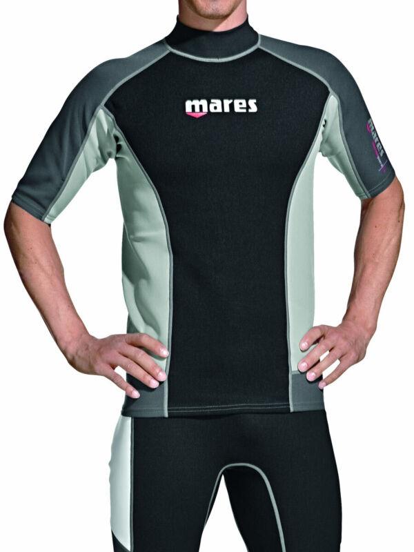 Mares Rash Guard Top - Mens Short Sleeve