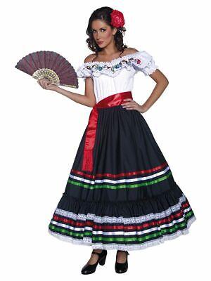SMIFFY 34449 Sexy Senorita Mexicanerin Flamenco Western Karneval Damen Kostüm