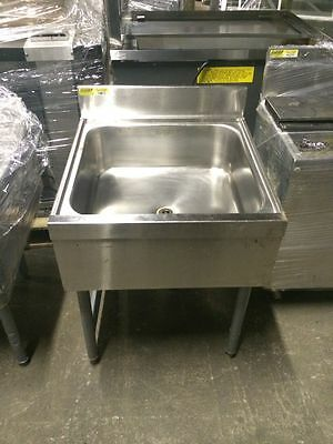 Commercial Underbar Dump Sink Station