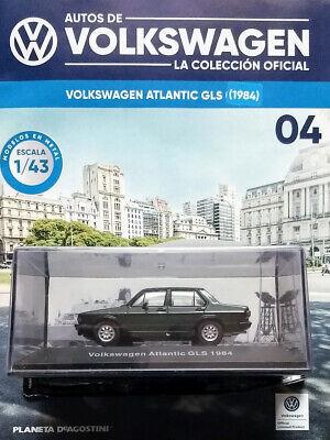 VOLKSWAGEN ATLANTIC GLS (1984) OFFICIAL COLLECTION 1:43 # 4 ARGENTINA, usado segunda mano  Embacar hacia Mexico