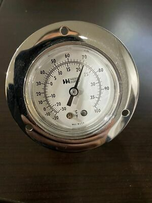 Thermometer 2.5in F. 7002 Milk Tank