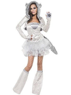 Adult Sexy Big Bad Wolf Animal Costume  ()