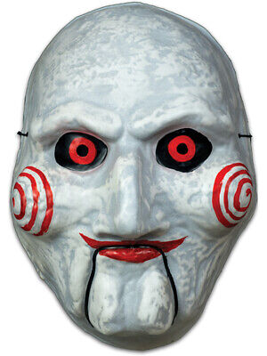 The Saw Costume (Saw Billy The Puppet Vacuform Mask Costume)