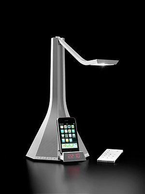 Rotaliana Diva bianca a led 4,5W lampada da tavolo multifunzionale   Mp3 iphone