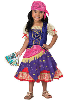 Toddler Gypsy Costume (Deluxe Darling Gypsy Fortune Teller Circus Toddler Child Costume)