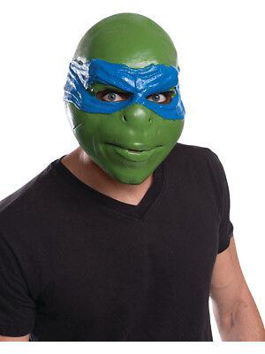 Adult's Mens Teenage Mutant Ninja Turtles Leonardo 3/4 Mask Costume Accessory
