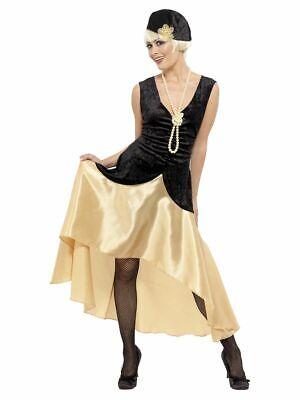 SMIFFY 33368 20er Charleston Gatsby Girl 1920 Jazz Kleid Karneval Damen Kostüm - 20er Gatsby Girl Kostüm