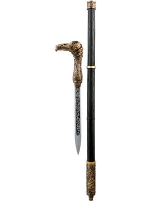 Assassin's Creed Syndicate Jacob Frye Cane Sword Weapon Toy Costume Accessory