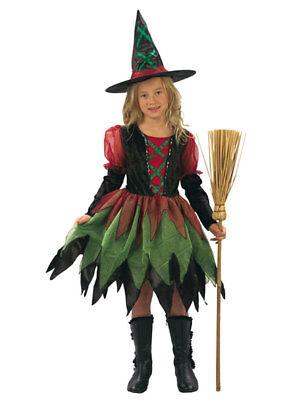 Kinderkostüm superluxe Hexe Fee Fairy Halloween Fasching Karneval