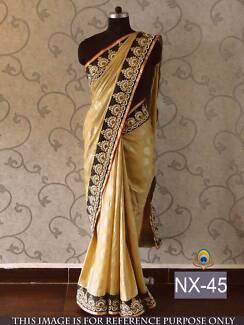 Indian Georgette Saree #NX 45 / Sari / Salwar Kameez / Bollywood