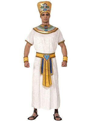 Adults Mens Egyptian Pharaoh Pharaoh King Costume Large 42-44 - Mens Pharaoh Costume