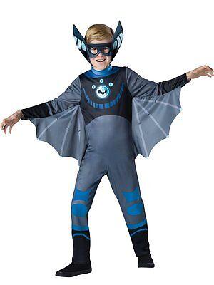 Fledermaus Kostüme Jungen (Incharacter Wild Kratts Fledermaus Blau Standard Jungen Kinder Halloween Kostüm)